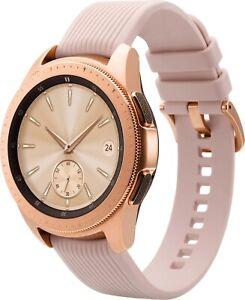 Samsung Galaxy Watch SM-R815U 42mm GPS,Bluetooth Unlocked LTE Rose Gold Grade B+