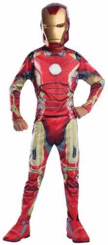 Iron Man Marvel Superhero Avengers 2 Ultron Fancy Dress Halloween Child Costume