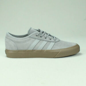 finest selection 8fa45 085b1 Image is loading Adidas-Adi-Ease-Skate-Trainers-Shoes-Grey-Grey-