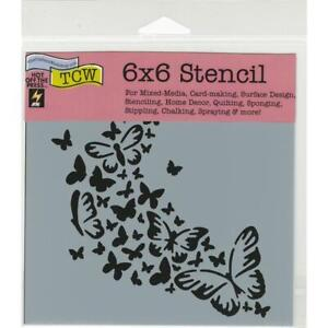The-Crafter-039-s-Workshop-Stencils-6-034-x6-034-Butterfly-Trail-TCW712s