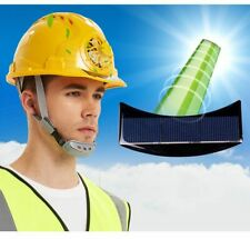 With Fan Workplace Solar Power Hat Sunscreen Outdoor Safety Ventilate Helmet