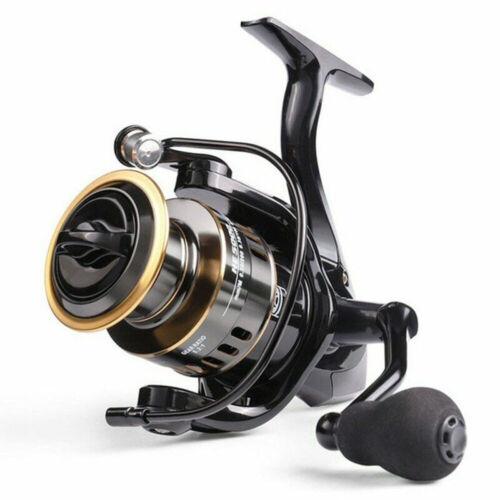 Fishing Reel HE1000-7000 Max Drag 10kg High Speed Metal Spool Spinning Reel