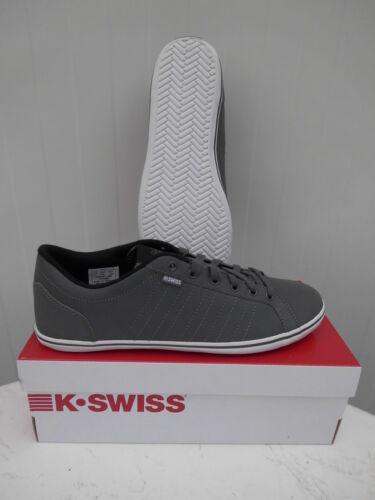 K-swiss Cour chaussures hommes 39,5 40 sneaker Loisirs Gris Nouveau