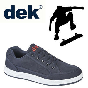 DEK-034-Charlie-034-Mens-Casual-Trainers-Navy-Blue-Textile-Shoes-Sizes-UK-6-to-12