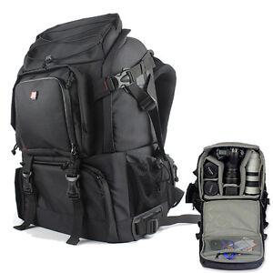 DSLR-SLR-Camera-Lens-Padded-Bag-Backpack-Rucksack-Laptop-Bag-For-Canon-Nikon-New