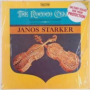 ROCOCO-CELLO-Janos-Starker-EVEREST-Shrink-VINYL-LP-NM