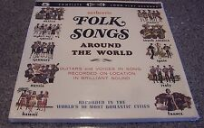 Authentic Folk Songs Around The World FIVE LP BOX SET SEALED NM