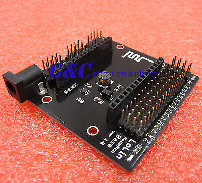 NodeMcu Base ESP8266 Testing DIY Breadboard Plate NEW