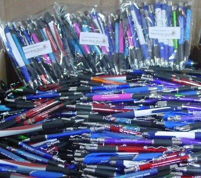 PENLIGHTS Misprint Pens Plastic Clip On  Retractable LOT of 25
