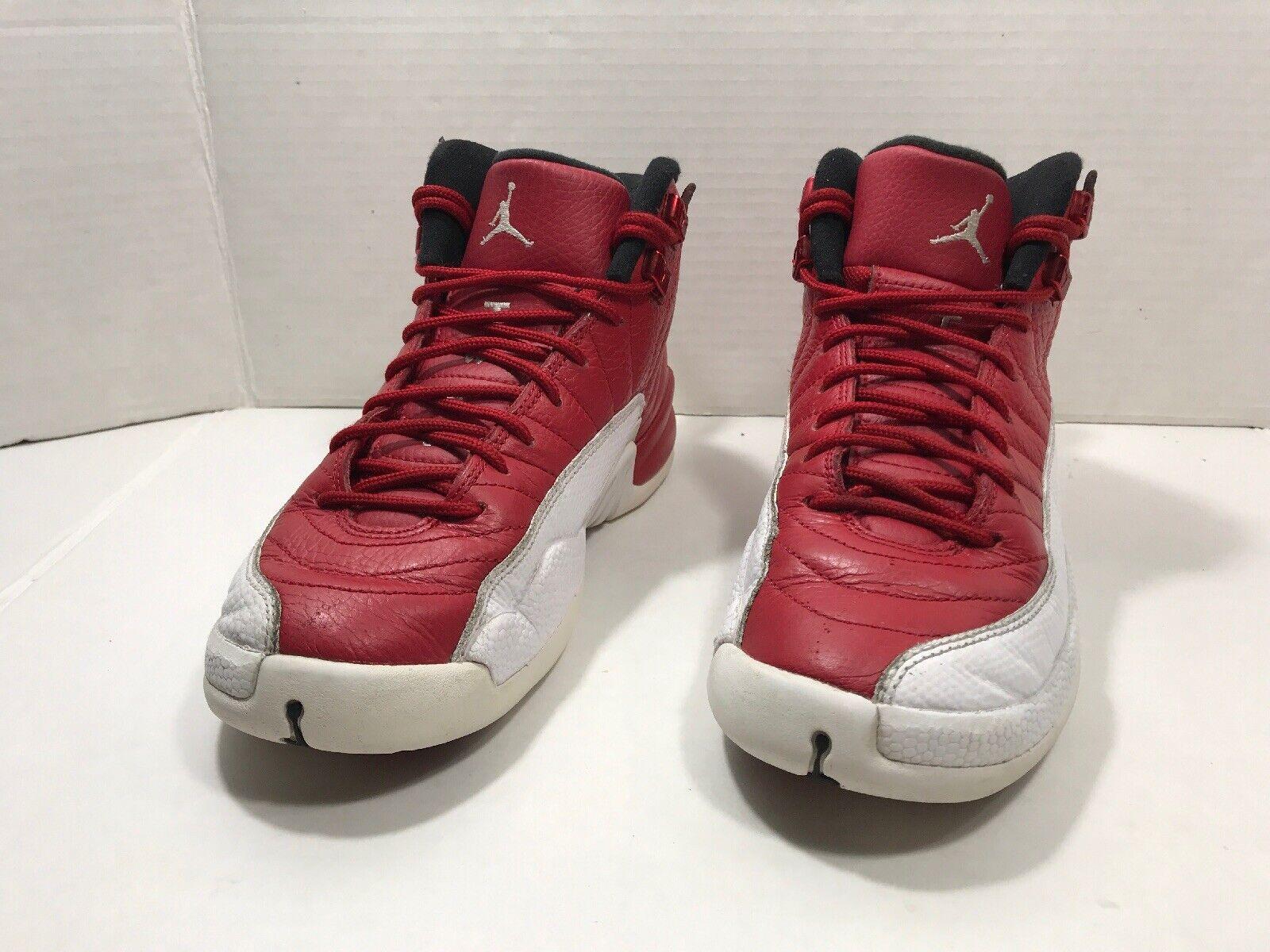 "GS 153265 600 Jordan Retro 12 /""Gym Red/"" Gym Red//White-Black"