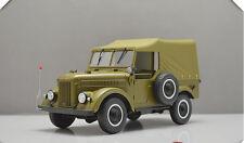 1:18 GAZ 69A Jeep Carrier Green Caravans Model