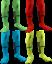 miniature 1 - Rinat Geometrik gardien Chaussettes