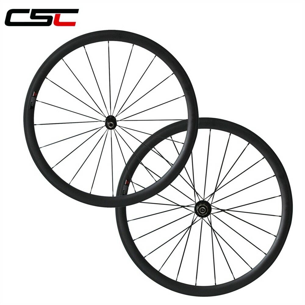 Only 1470g  25mm Width U Shape  38mm Clincher Carbon racing road wheelset