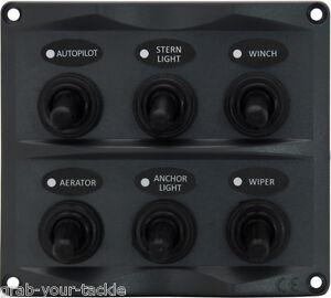 Marine-Switch-Panel-6Gang-Splashproof-Toggle-LED-Back-Indicator-Light-12-24-Volt