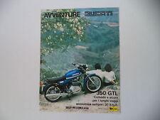 advertising Pubblicità 1976 MOTO DUCATI 350 GTL