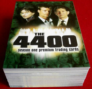 THE-4400-Season-One-COMPLETE-BASE-SET-72-cards-Inkworks-2006