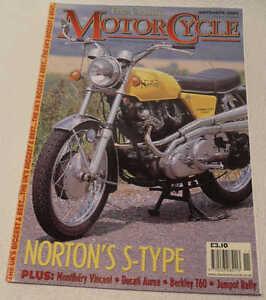 Classic MC Nov 2002 Radco, Vincent, Berkeley, Ducati Aurea, Norton Commando 750S