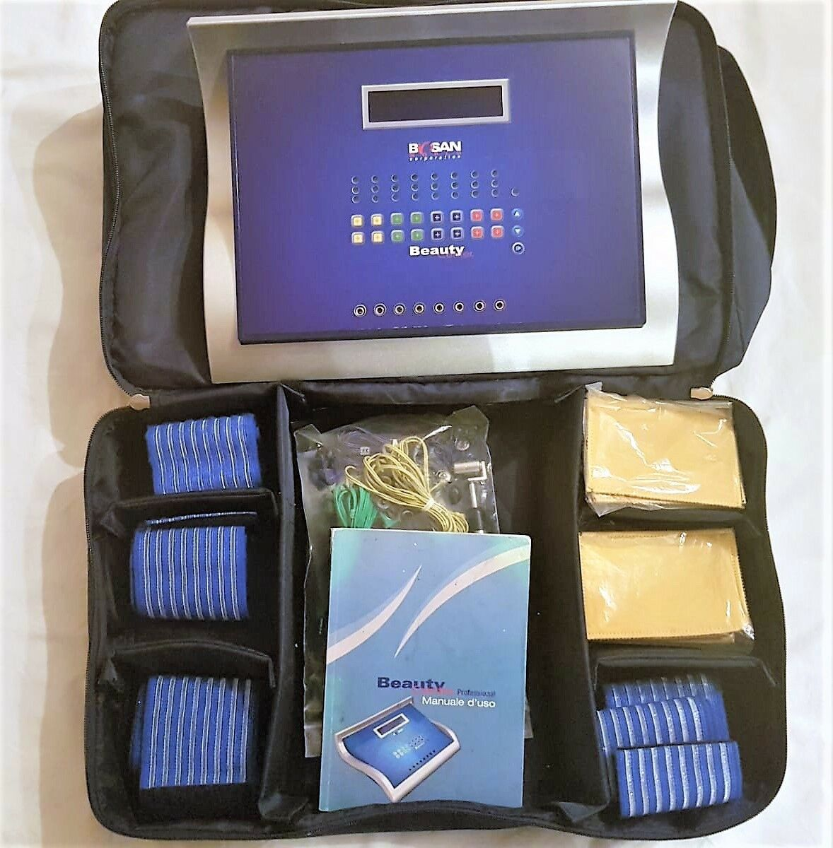 Elettrostimolatore BIOSAN BEAUTY CENTER Professional USATO  borsone, manuale