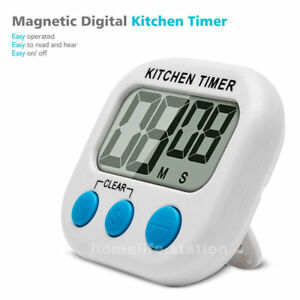 7b91d2e63f4b La imagen se está cargando Reloj-de-Alarma-Gran-LCD-Cocina-Digital -Temporizador-