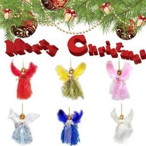 Christmas-Feather-Angel-Doll-Hanging-Xmas-Tree-Pendants-Ornaments-Home-TreeDecor
