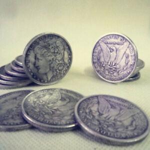 10pcs-Steel-Morgan-Dollar-3-8cm-Magic-Trick-Dollar-Size-Coins-Magic-Accessories