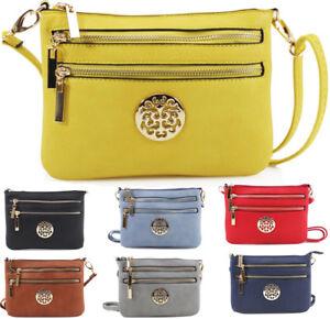 2c8abc156cb5d Details about Ladies Mini Cross Body Messenger Bag Women Shoulder Over Bags  Detachable Handbag