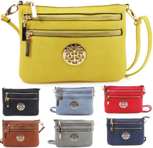 Ladies Mini Cross Body Messenger Bag Women Shoulder Over Bags Detachable Handbag