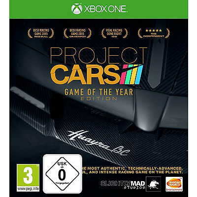 XBOX ONE Project Cars - Game Of The Year Edition NEU&OVP
