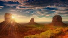 MONUMENT VALLEY POSTER ROAD SUNSET 22312 24x36 SHRINK WRAPPED
