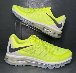 DS Nike Air Max 2015 Premium VOLT White