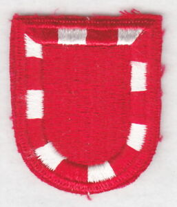 Army Beret Patch: 326th Engineer Battalion - cut edge