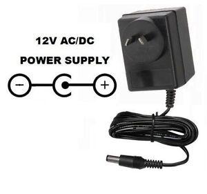 Details about 12 VOLT 2000 MA AC/DC POWER SUPPLY ADAPTER 12V 2 1 POSITIVE  CENTER/TIP 240V AUS