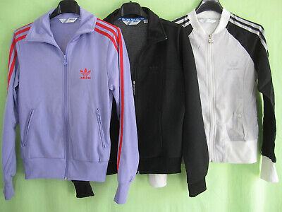 Lot 3 veste Adidas Originals Trefoil Jacket Femme style vintage 38 | eBay