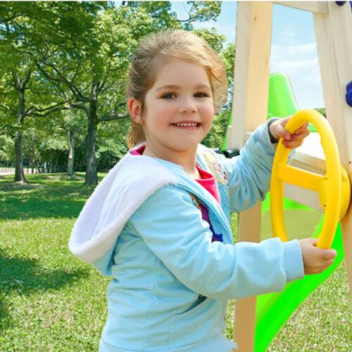 Spielhaus Stelzenhaus Kinder Schiff Bootslenkrad  Spielzeug für Spielturm
