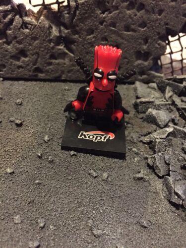 Deadpool Bart Simpson Mini-Figurine avec accessoires X3 INC Chrome