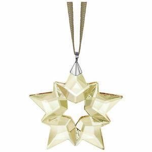 2019-Autentico-Swarovski-Scs-Poco-Estrella-Oro-Ornamento-Copo-Cristal-5476002