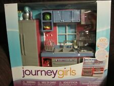 Journey Girls Gourmet Kitchen Set Dollhouse Furniture 100 Pcs American For Sale Online Ebay