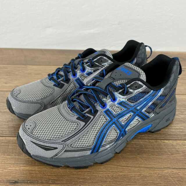Black Mens ASICS GEL-Venture 6 Trail Running Shoes