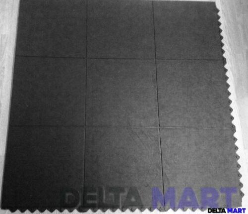 90x90cm 16 mm FREE POST Enclenchement Tapis Caoutchouc Gym Exercice Tapis 3/'x3/'
