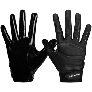 Cutters S452 Rev Pro 3.0 Extreme Grip Flexible Football Receiver Glove Solid