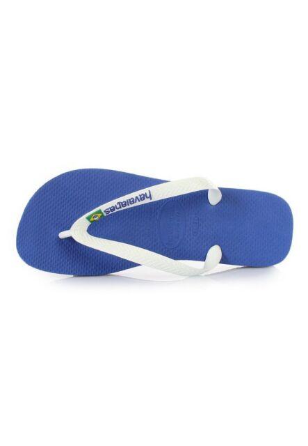 38e8d0fa4715f Havaianas Brazil Logo Men s Flip Flops Sandals Marine Blue Navy ...