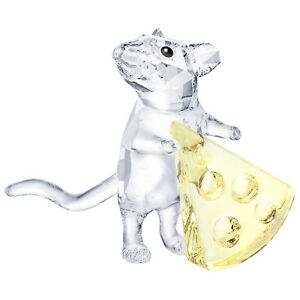 Swarovski-Crystal-Creation-5464939-Mouse-With-Cheese-RRP-99