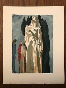 La Divine Comédie - Gravure Salvador Dali - ENFER