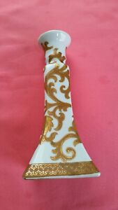 Vintage-Chinese-porcelain-candle-holder-8-5-034-Tall-excellent