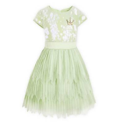 NWT DISNEY STORE Tiana Party Dress Girls 5//6,9//10