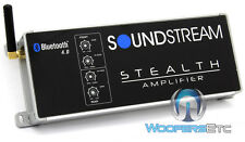 SOUNDSTREAM ST4.1000DB BLUETOOTH MOTORCYCLE MARINE 4 CHANNEL SPEAKERS AMPLIFIER