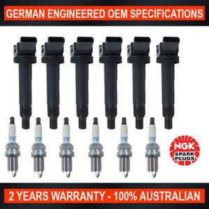 6x-Genuine-NGK-Iridium-Spark-Plugs-amp-6x-Ignition-Coils-for-Lexus-RX300-ES300