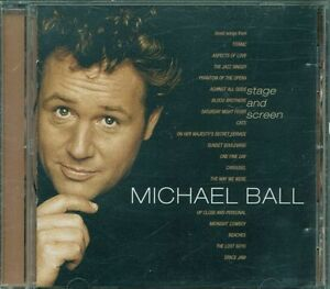 Michael-Ball-Stage-And-Screen-Phil-Collins-Van-Morrison-Celine-Dion-Cd-Ex