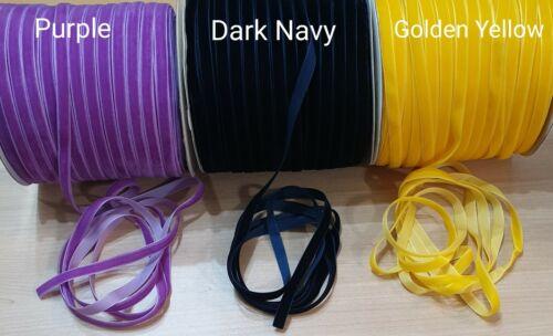 Gargantilla Collar de terciopelo clásicos banda 10mm 36 Colores Hecho A Mano Reino Unido