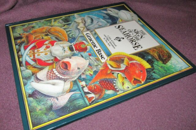 The SIGN of the SEAHorse ~ Graeme BASE. 1ST Hb  ~ Greed High Adventure   in MELB